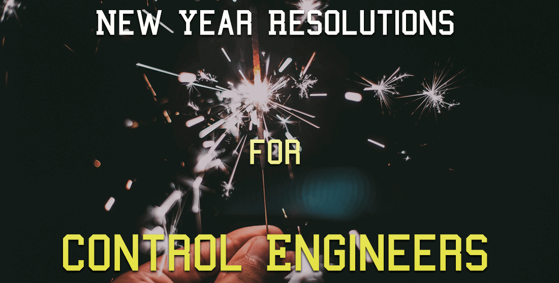 New Year Resolutions for Control Engineers