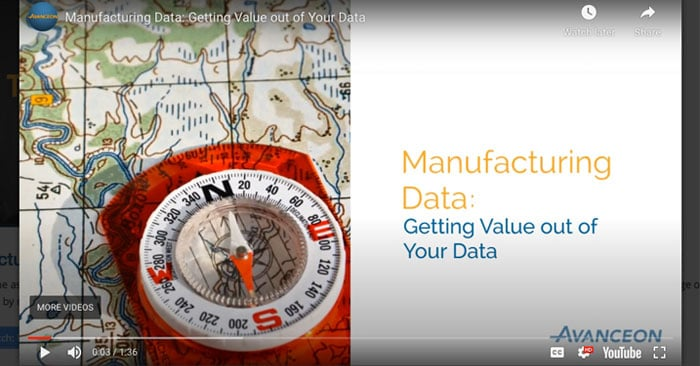 Manufacturing Data: Getting Value out of Your Data
